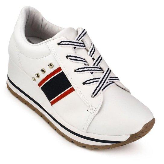 6597c48411 Tênis Dakota Anabela Gorgorão Chunky Sneaker Feminino - Branco ...