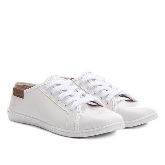 Tênis Moleca Básico Feminino - Branco - Compre Agora  993fcfce085dc