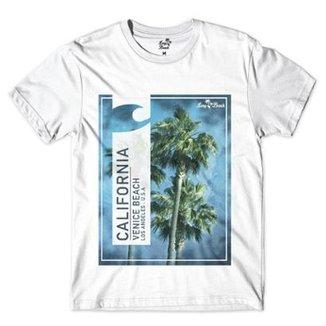 Camiseta Long Beach Coleção Praias California Venice Beach Sublimada  Masculina 5d1a883b187