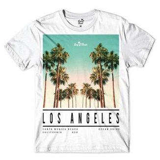Camiseta Long Beach LA Beach Sublimada Masculina 8f1e808f860a1