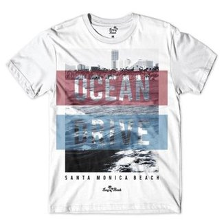 7fc71ddbf725d Camiseta Long Beach Ocean Drive Sublimada Masculina