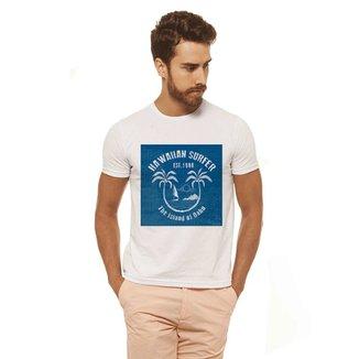 f13a73f361 Camiseta Branca Estampada Masculina Joss - Havaiian Surf