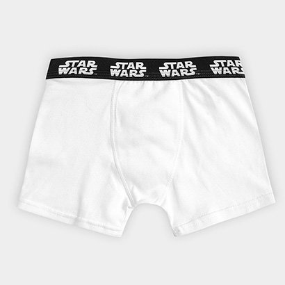 Cueca Boxer Infantil Lupo Cueca Star Wars