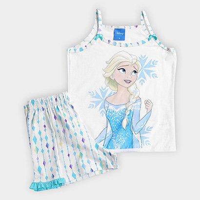 Pijama Infantil Lupo Estampa Frozen Feminino