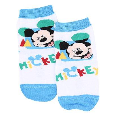 Meia Infantil Lupo Disney Mickey Cano Médio