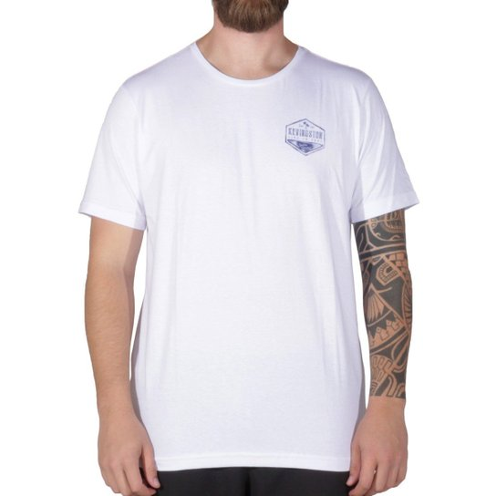 91a2c360d1 Camiseta Kevingston Remera Lisa - Branco