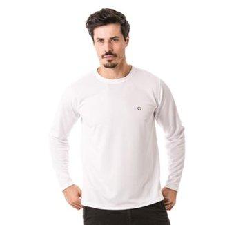 Camiseta com Proteção Solar Manga Longa Extreme UV Dry e28a3a8a01e