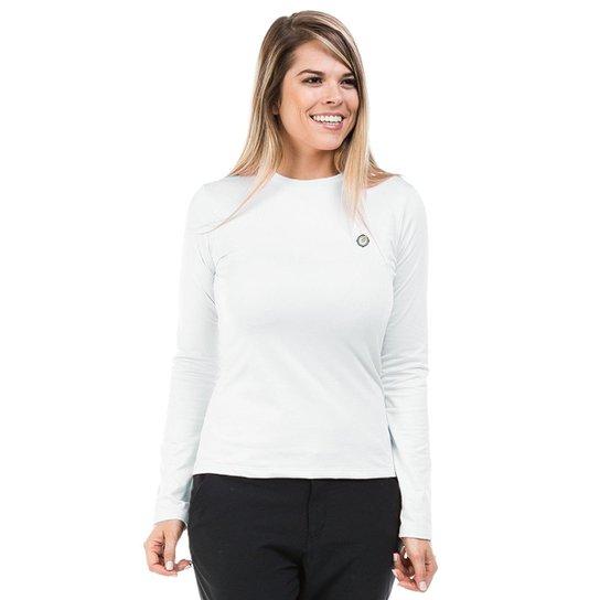 cfb342429 Camisa Térmica para Frio Manga Longa com Proteção Solar Extreme UV - Branco