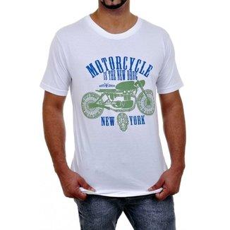 4ef19e74a Camiseta Motociclista - Motorcycle