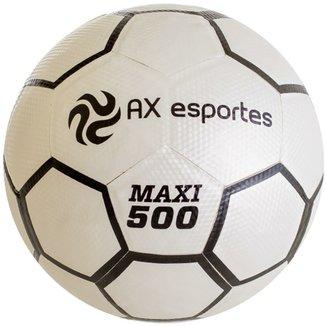 d6c6aa04b0987 Bola de Futsal AX Esportes Maxi 500 Matrizada com 32 Gomos