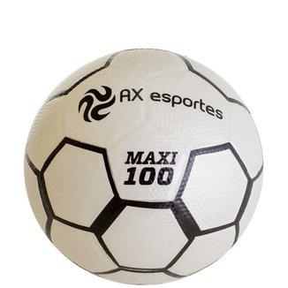 Bola de Futsal AX Esportes Maxi 100 Matrizada com 32 Gomos 25c7159c2f869