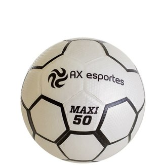 Bola de Futsal AX Esportes Maxi 50 Matrizada com 32 Gomos 5b6eda3a0383a