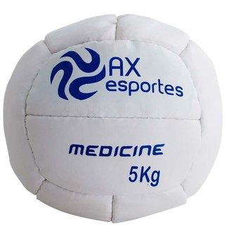 356883ea20fa5 Bola Medicine Ball 5 Kg AX Esportes Costurada - 530095