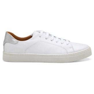Compre Tenis Branco Feminino Casual Online   Netshoes 4d53e5b449