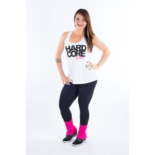 2d6422091b Regata Feminina Hardcore Ladies - Branco