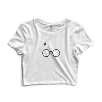 6f57ebf45 Blusa Cropped Morena Deluxe Glasses Feminino