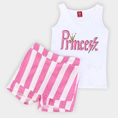 Conjunto Infantil Bee Loop Princess Feminino