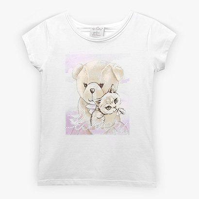 Blusa Infantil Up Baby Lover Menina