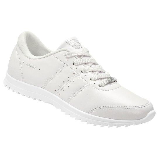 7b70047b1 Tênis Azaleia Tratorado Feminino - Branco   Netshoes