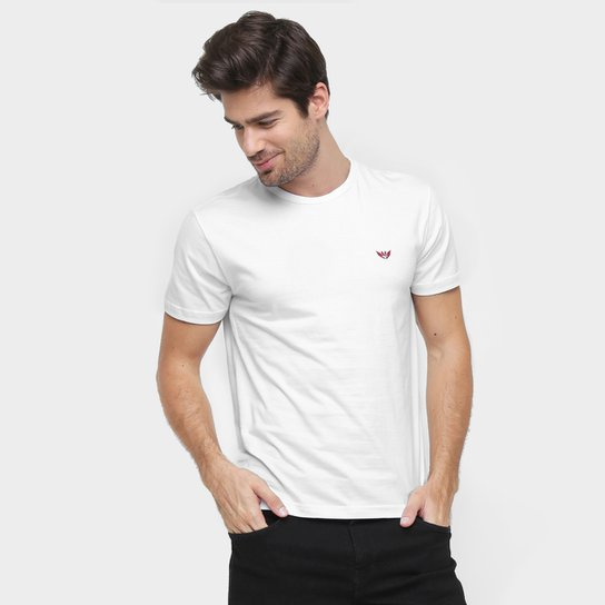 29ecdae22c Camiseta M. Officer Básica - Branco