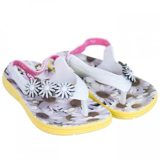 2edcd5491775f Chinelo Infantil Feminino Ortopé Aqua Flex PVC 2107126 | Netshoes