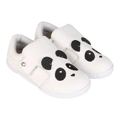 Sapato Couro Infantil Ortopé DNA New Panda