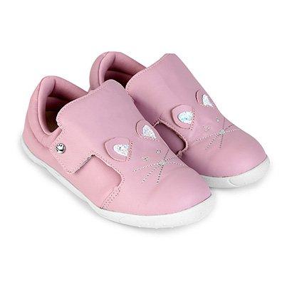 Sapato Infantil Couro Ortopé DNA New Rato Feminino
