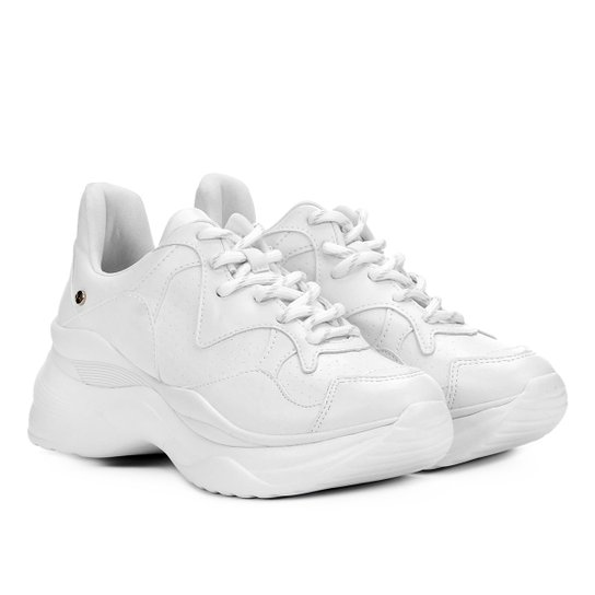 eb35925b669 Tênis Tanara Chunky Sneaker Feminino - Branco - Compre Agora