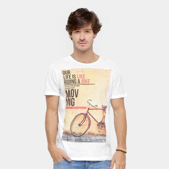 Camiseta Colcci Estampa Life is Like Masculina - Compre Agora  39379de7119