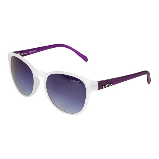 13a0c96bb Óculos de Sol Colcci June Feminino - Branco | Netshoes