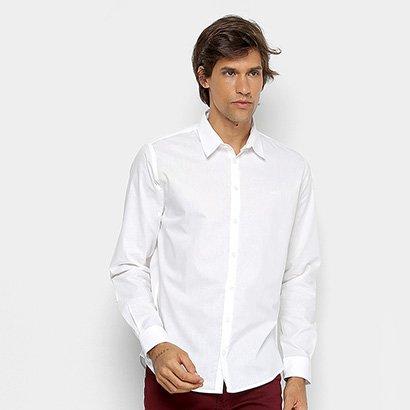 Camisa Slim Colcci Básica Masculina