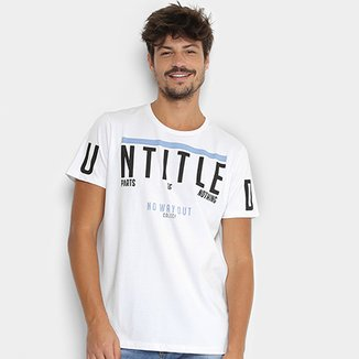 6b3471b8a Camisetas Colcci Masculinas - Melhores Preços | Netshoes