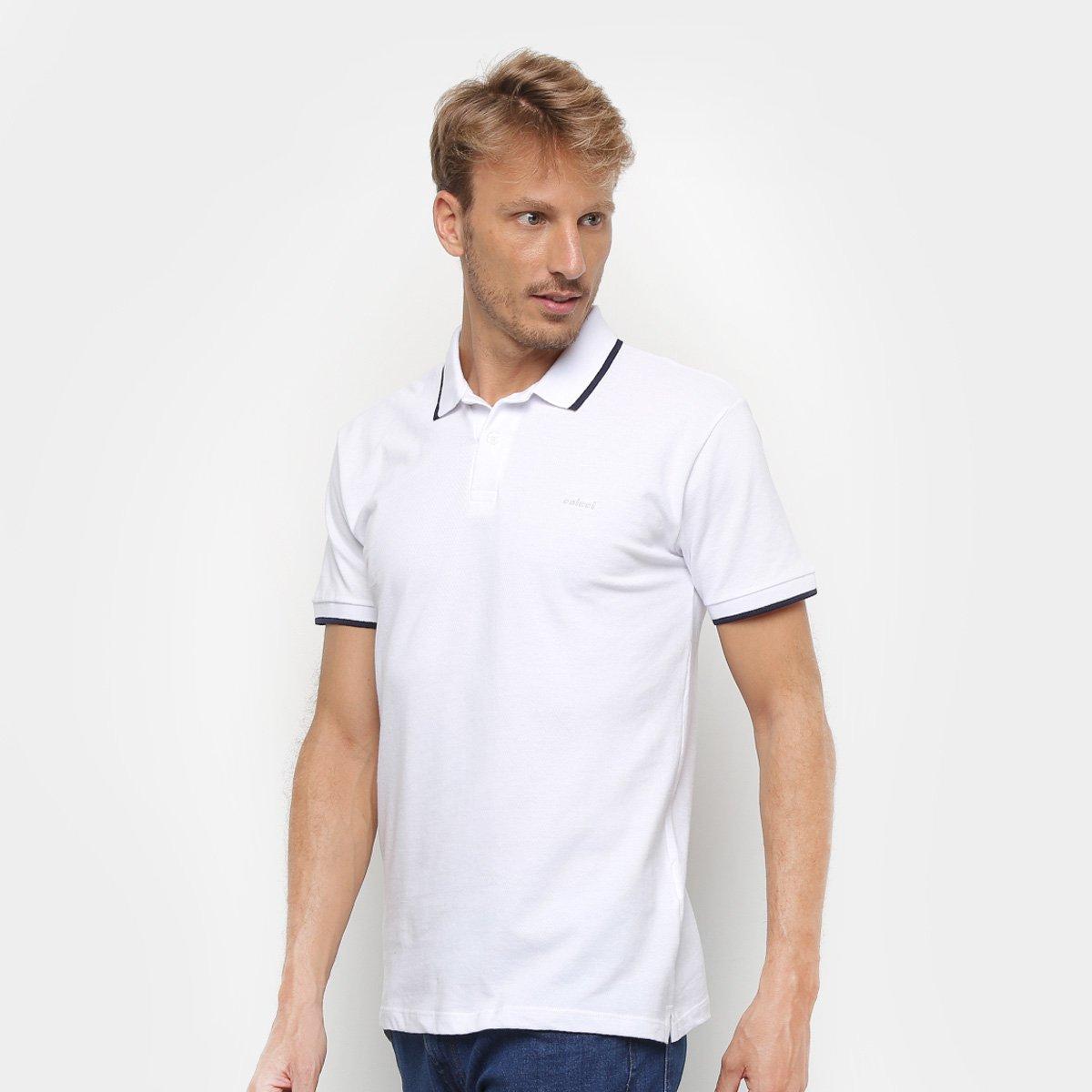 1ec0f8239 Camisa Polo Colcci Clássica Masculina