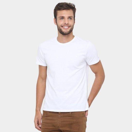 d872e4ab9e Camiseta Forum Básica Masculina - Branco
