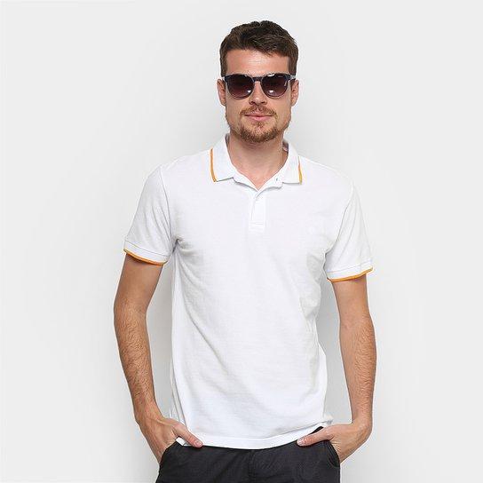 8fa1cc85b7 Camisa Polo Forum Piquet Masculina - Branco - Compre Agora