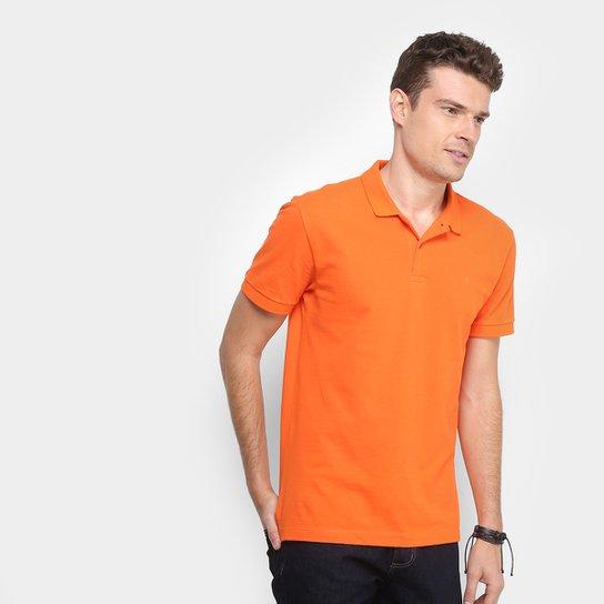 Camisa Polo Forum Piquet Masculina - Laranja Claro - Compre Agora ... 879fe9051c14d