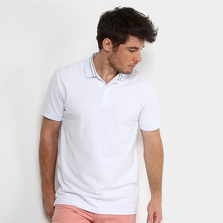 085af7a502fdc Camisa Polo Forum Piquet Masculina