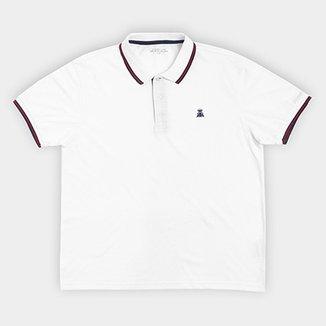 Camisa Polo Broken Rules Plus Size Bordado Masculina 5d0ad667cc7