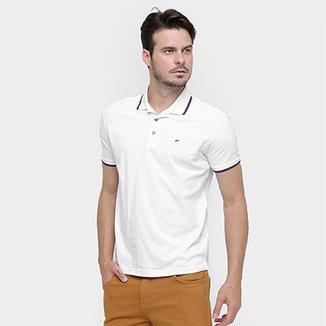 97a008c96e004 Camisa Polo Ellus Piquet Básica Frisos