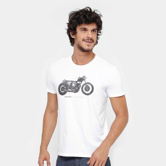 Camiseta Ellus Road Knights Masculina - Branco - Compre Agora  0ee6a024e01
