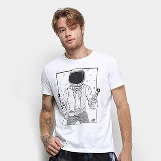 af34e830a8 Camiseta Manga Curta Ellus 2nd Floor Space Cowboy Masculina