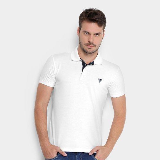 f2530ce8fa Camisa Polo Piquet Opera Rock Masculina - Branco - Compre Agora ...