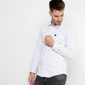 5dd4574688 Camisa Social Masculina - Super Slim