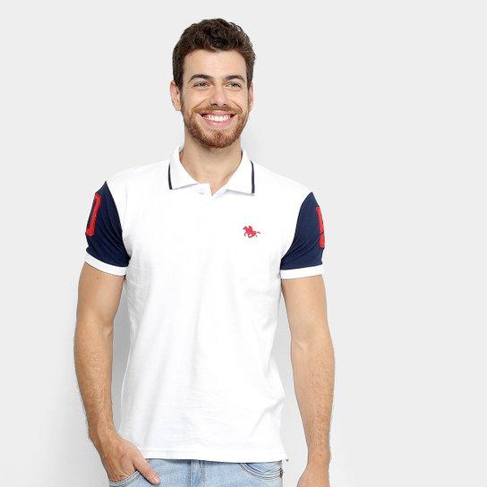 6eee3a8f8c8 Camisa Polo RG 518 Piquet Bordado Masculina - Branco - Compre  Agora . 7818da7ebe6fe