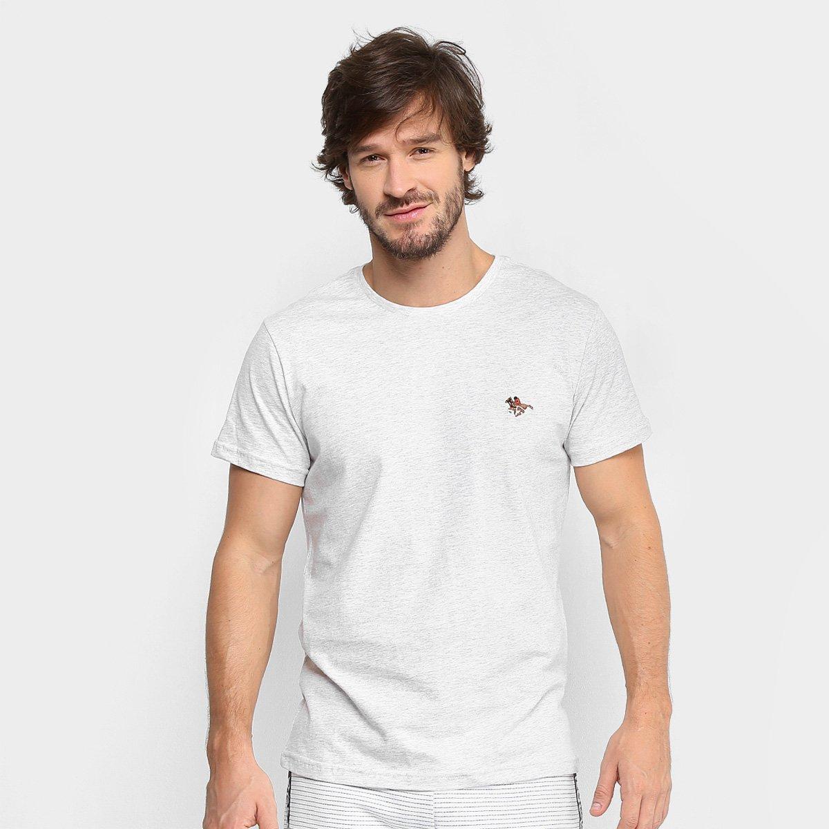 0871a6cfe Camiseta Polo RG 518 Bordado Color Masculina