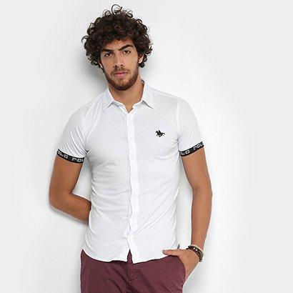 Camisa RG 518 Manga Curta Malha Estampa Masculina