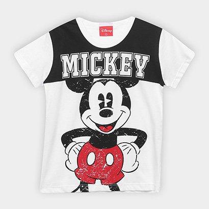 Camiseta Infantil Kamylus Mickey Masculina