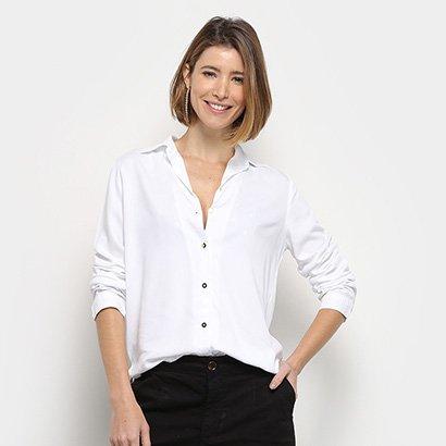 Camisa Lança Perfume Confort Com Top Feminina