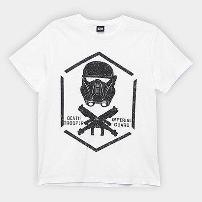 Camiseta Infantil Fakini Estampa Star Wars Masculina