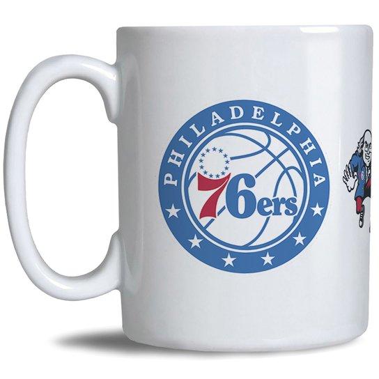 4d6a66089 Caneca NBA Philadelphia 76ers - Branco - Compre Agora